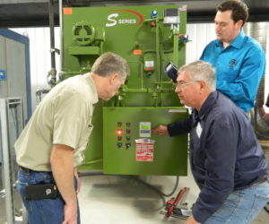 Commissioning New Hands On Training Boiler